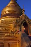 Golden stupa of Kuthodaw Paya, Mandalay