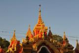 Southern gate to Kuthodaw Paya, Mandalay