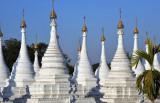 Forest of white stupas, Sandamani Paya, Mandalay