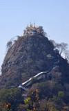 Taung Kalat - Pedestal Hill - 737m (2417 ft)