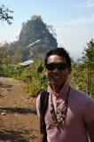 Dennis at Mt Popa