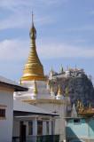 Stupa at Mt. Popa