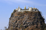 Popa Taung Kalat Monastery, Mt. Popa