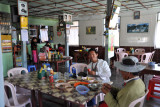 Lunch at Daw Nyunt Yee Restaurant - cheapest and best of the whole trip