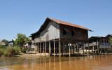 Stilt house, Nan Chaung Canal, Nyaung Shwe