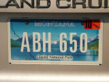 Montana License Plate - Glacier National Park