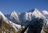 Cho-oyu (8201m/26,906ft) world's 6th highest mountain, Nepal/Tibet and Jasamba (7351m) Nepal-Tibet