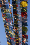 Buddhist prayer flags, Swayambhunath