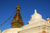 Main stupa, Swayambhunath (Monkey Temple)