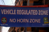 Vehicle Regulated Zone - Thamal tourist area, Kathmandu