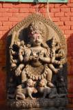 Bhairab, 1701, Durbar Square, Bhaktapur