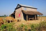 Rural farmhouse near Sauraha, Central Terai