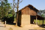 Rural architecture near Sauraha, Central Terai, Nepal