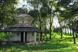 A small temple outside Sauraha, Central Terai (N27 34 56.50/E084 29 02.01)
