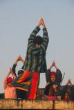 Roof top yoga class, Chitrasali