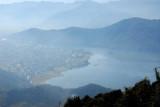 View of Lake Phewa, Pokhara from Sarangkot