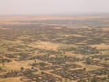 Abu Shouk and Al-Salam IDP camps from the air