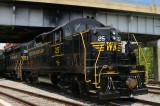 The Return of Western Maryland Railway GP9 #25
