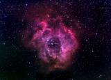 NGC 2237 La Nébuleuse de la Rosette