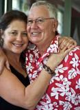Bob and Jo at party