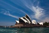 Sydney Opera House with good sky landscape