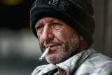 Man with cigarette