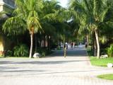 Main pathway through the resort