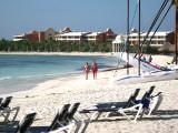 Beach at the resort