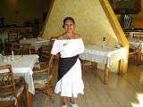 Dining hall hostess