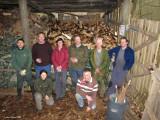 National Trust Volunteer Weekend, Hardcastle Craggs, Yorkshire, February 2010