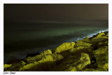 Tel Aviv sea at the night