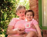 Nana Connie and Ava Rae