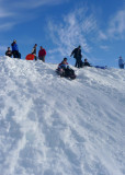 Sledding at the sno park