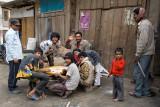 people play a game  in Tenga