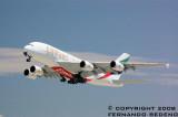 Emirates A380 2008 LAX