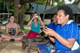 Taking Kava, Mana Island, Fiji