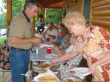 5 June 2004 cook out at the  Stafford