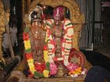 2-ANDAL and KEsva perumAL in Eka simhAsanam and ANDAL on His right.jpg