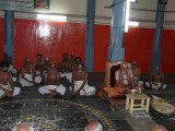 Section of divya prabandha sevakala goshti with HH swamy in the lead.jpg