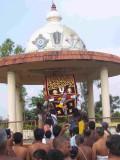 Ragavan Entering vasantha Mandapam_Nachiyar Thirukolam_5th day.jpg