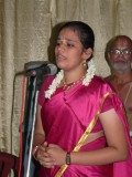 03-Sow Anu Priya singing the Prayer song to mark the beginning of the function.JPG