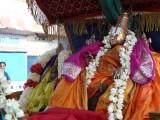 03-Nithyasooris(vishvaksenar and chakrathAzhvar) in the kainkaryam of Parthasarathi.JPG