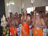 30-3 jeeyars adorning the sattrumarai ghosti.JPG