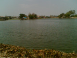 The Gomti Tank in which EmperumAn's idol was hidden.(The Gomti was created by Bhima)
