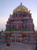 06-Sriperumbudur Samprokshanam 2008.Perumal Vimanam.In Flash light.jpg