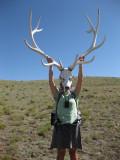 Martina and elk