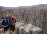 Martin family at Black Canyon of Gunnison CO