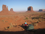 2009 Camp in Monument Valley, Arizona