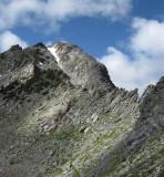 Knife edge in Spanish Peaks