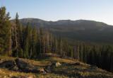 Camp below Windy Gap Gallatin ridge